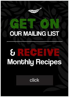 Recipe Mailing Listy